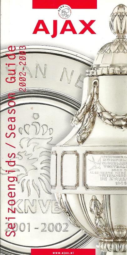Ajax Seizoengids 2002-2003 ...