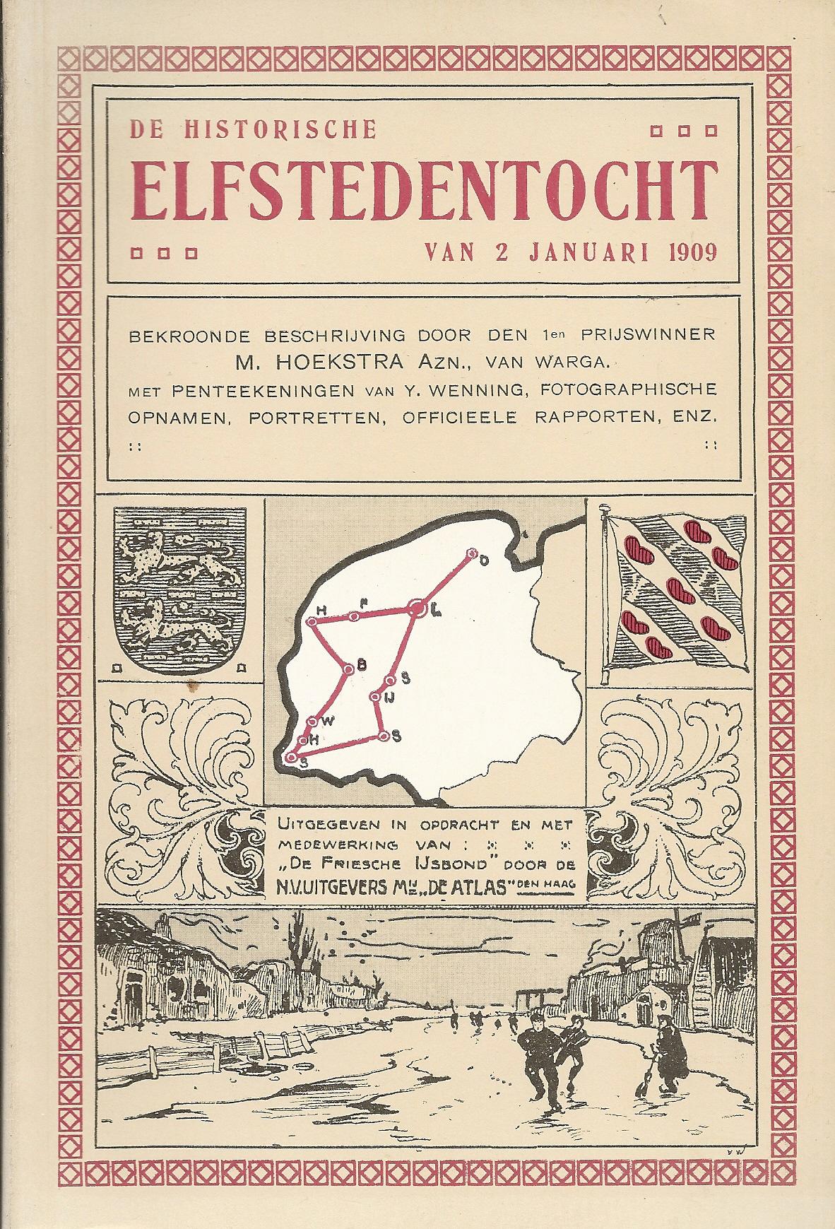 De historische Elfstedentocht van 2 januari 1909
