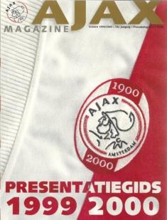 Ajax Magazine Presentatiegids 1999-2000