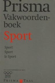 Prisma Vakwoordenboek Sport