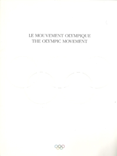 The Olympic Movement - Le Mouvement Olympique