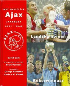 Ajax Jaarboek 2001-2002