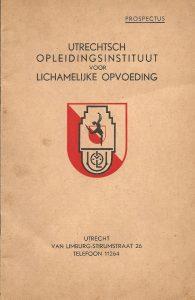 Utrechtsch Opleidingsinstituut voor Lichamelijke Opvoeding