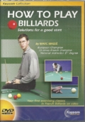 How to play billiards - DVD