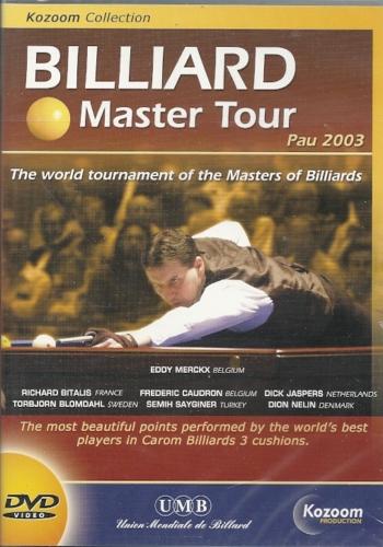 Billiard Master Tour Pau 2003