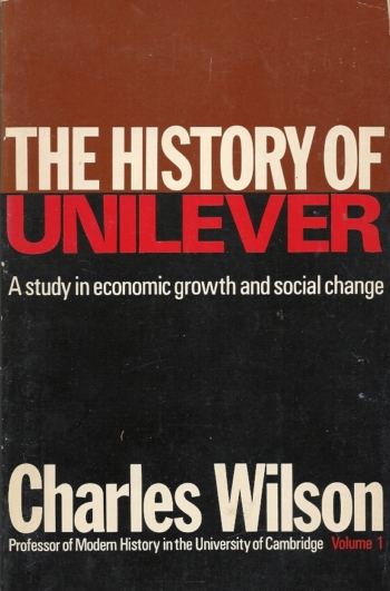 The History of Unilever. Volume 1