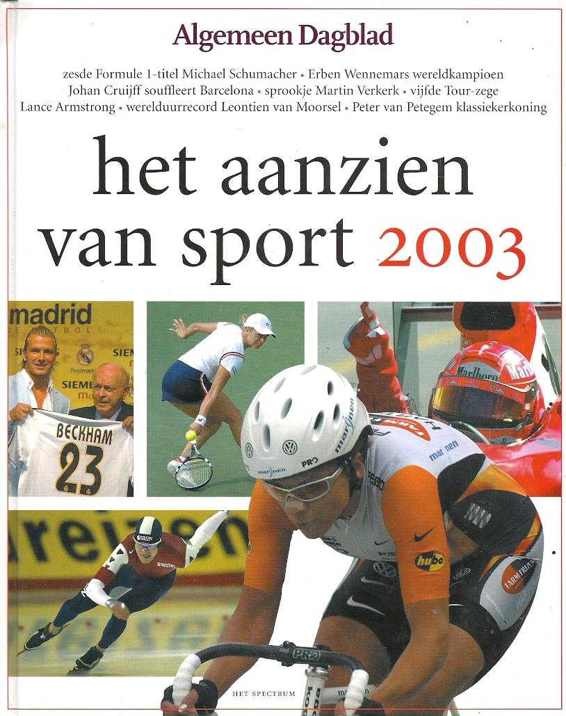 Het aanzien van sport 2003