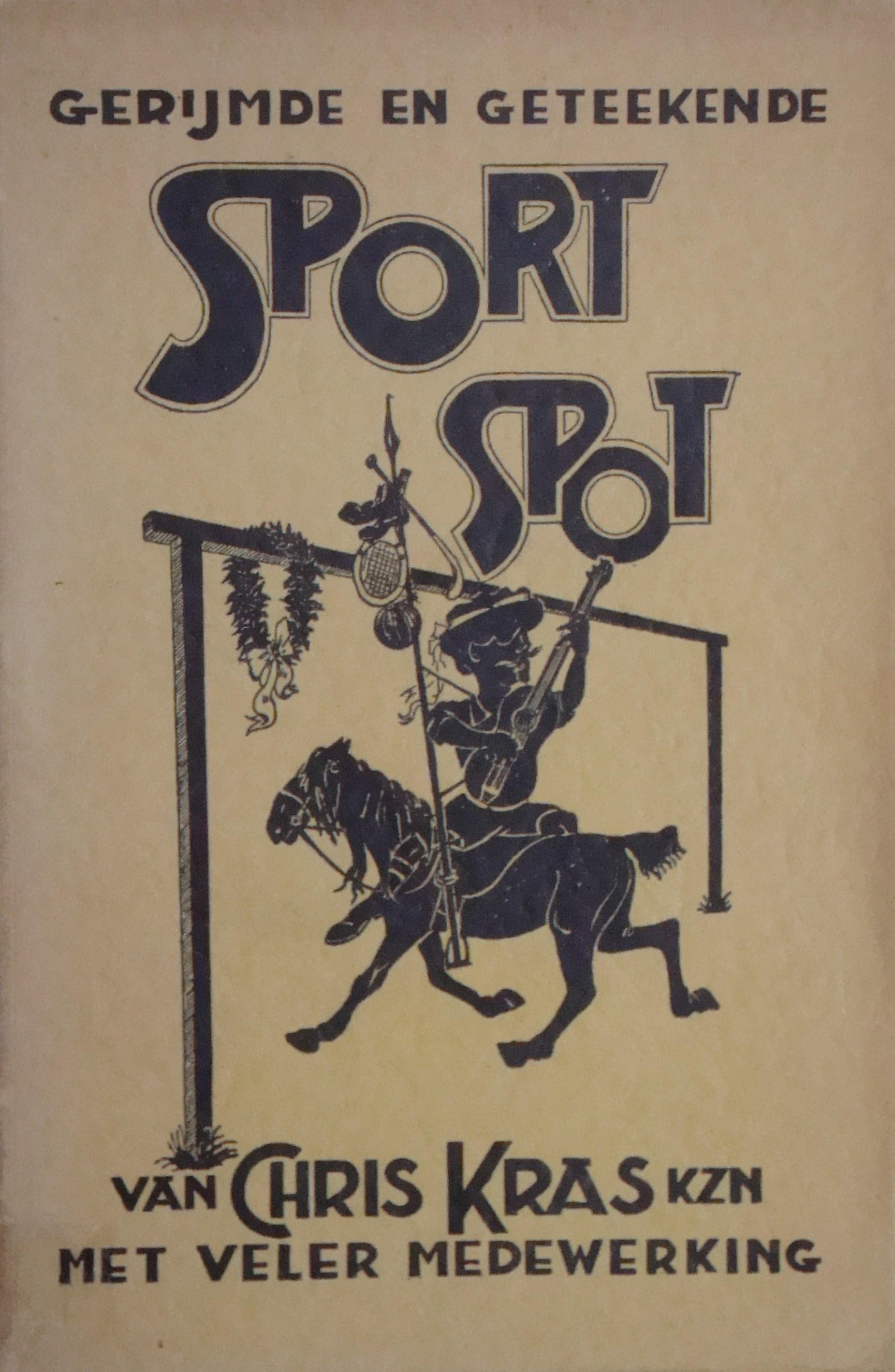 Gerijmde en geteekende Sport-Spot