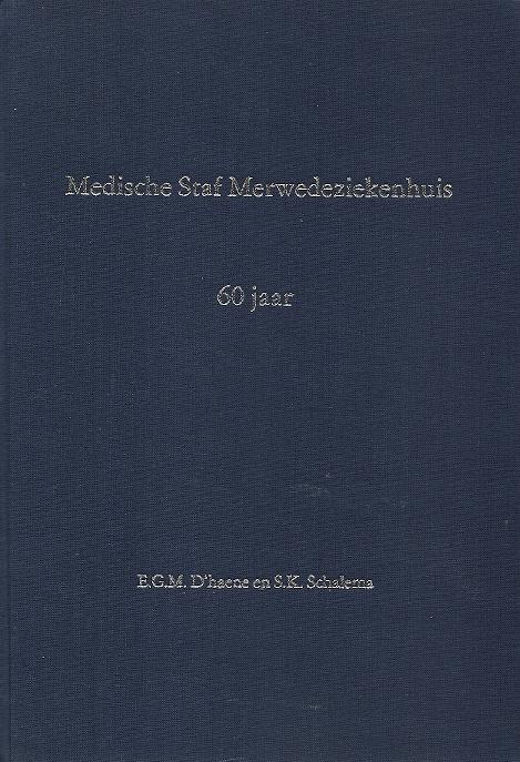 Medische Staf Merwedeziekenhuis 60 jaar