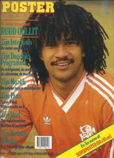 Poster Magazine Ruud Gullit