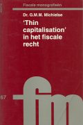 Thin capitalisation in het fiscale recht