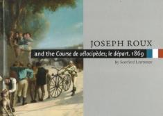 Joseph Roux and the Course de velocipedes; le depart. 1869