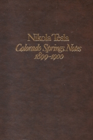 Colorado Springs Notes 1899-1900