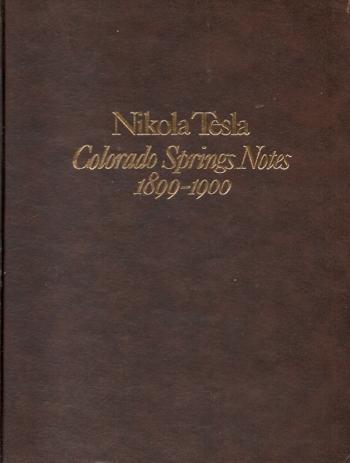 Colorado Springs Notes 1899-1900
