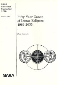 Fifty Years of Canon of Lunar Eclipses 1986-2035 Nr. 1216