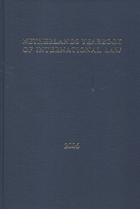 Netherlands Yearbook of International Law 2006