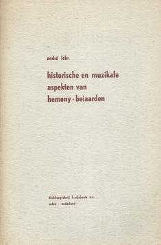 Historische en muzikale aspekten van Hemony-beiaarden