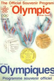 The Official Souvenir Program XV Olympic Winter Games Calgary '88
