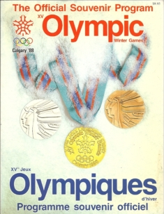 The Official Souvenir Program XV Olympic Winter Games Calgary '88