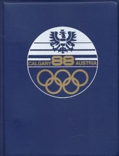 Calgary 88 Austria Ringbuch