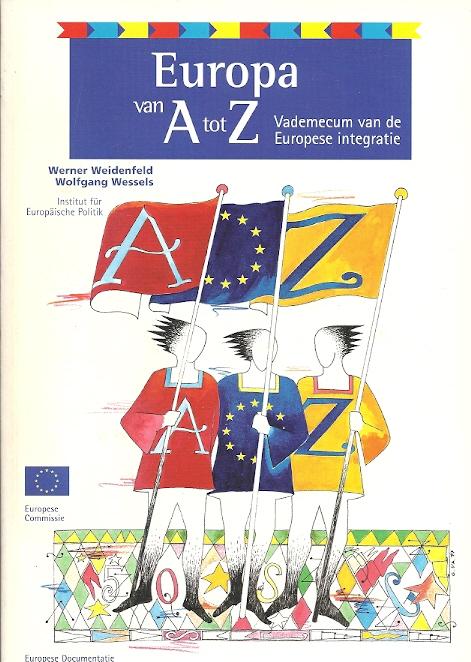 Europa van A tot Z.Vademecum van de Europese integratie Cover