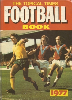 Topical Times Football Book 1977 - Cover