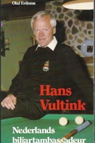 Hans Vultink. Nederlands biljartambassadeur