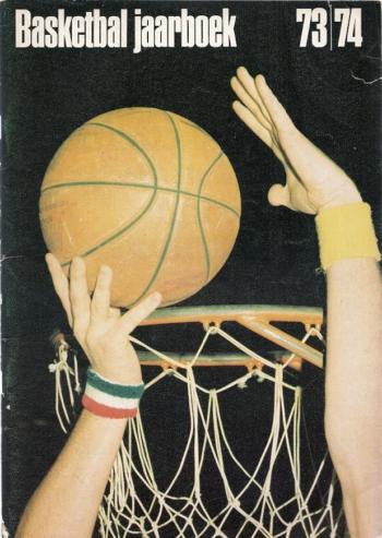 Basketbal Jaarboek 73-74 - Mart Smeets