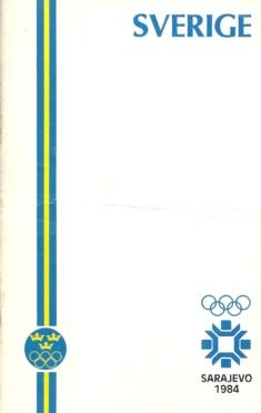 Sverige Sarajevo 1984 Media Guide