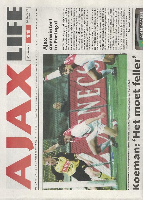 Ajax Life 2001-2002 - 9e Ja...