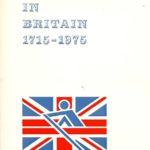 Boat Racing in Britain 1715-1975