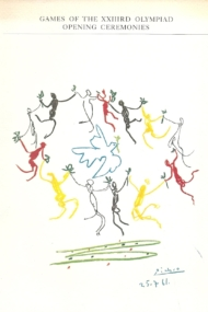 Games of the XXIIIrd Olympiad Opening Ceremonies