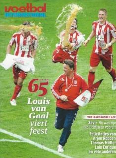 65 jaar Louis van Gaal viert feest