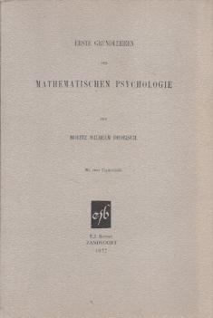 Erste Grundlehren der mathematischen Psychologie
