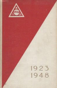 Gedenkboek Athletische Vereniging 1923 Cover