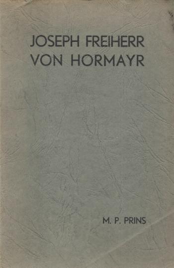 Joseph Freiherr von Hormayr