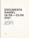 Documenta Kassel 2007 Katalog Catalogue 12
