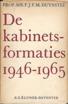 Kabinetsformaties 1946-1965
