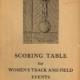 Scoring Table Women