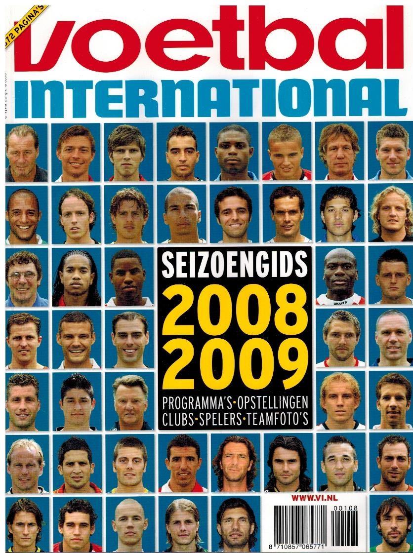 Seizoengids 2008-2009