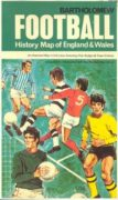 ootball History Map of England and Wales