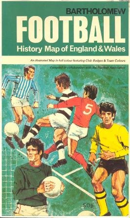 Football History Map of England and Wales