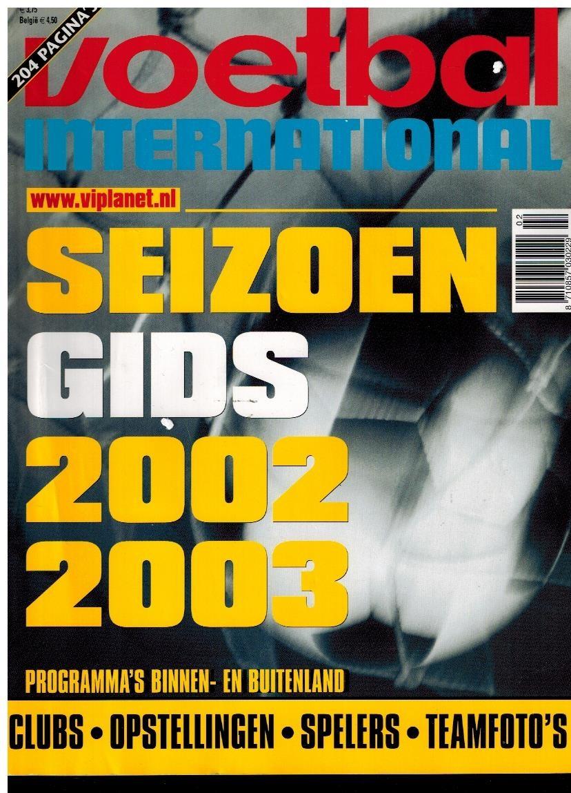 Seizoengids 2002-2003