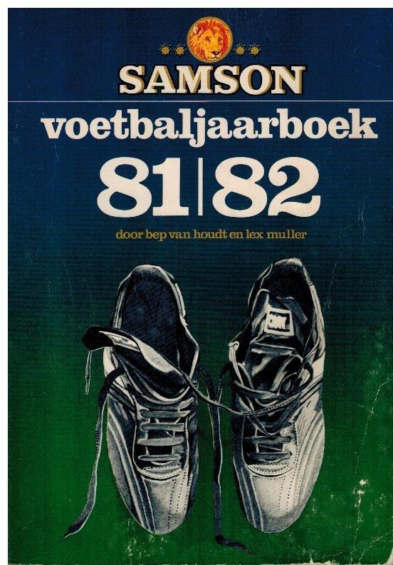 Samson Voetbaljaarboek 81-82