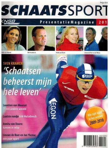 Schaatssport Presentatie Magazine 2010