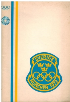 Swedish delegation at the Olympic Games in Munich 1972