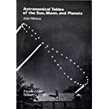 Astronomical Tables of the Sun, Moon, and Planets