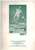 1928 IX Olympiade Amsterdam 1992