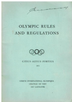Olympic Rules and Regulations