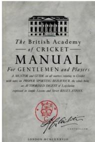 British Academy of Cricket Manual